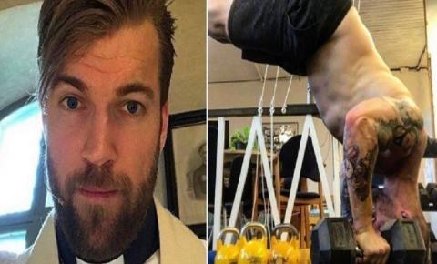 Padre tatuado, sarado e viciado em crossfit vira sensação no Instagram