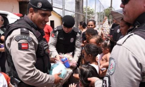 Operação Criança Feliz: Ação social da PM atende mais de 20 mil crianças na Paraíba