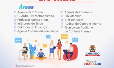 Banca organizadora do concurso de Cabedelo é definida