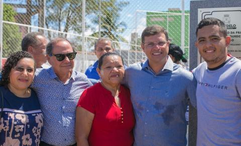 CABEDELO 63 ANOS: Prefeito Vitor Hugo entrega Praça para moradores da Praia do Poço