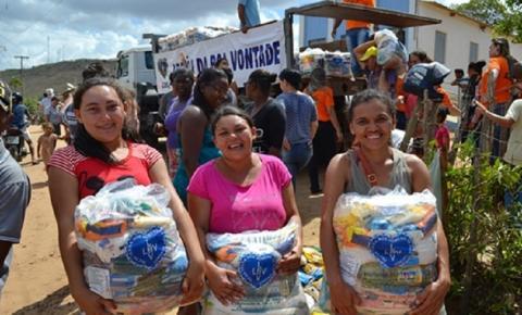 Famílias pobres do Brejo Paraibano serão assistidas com Natal da LBV