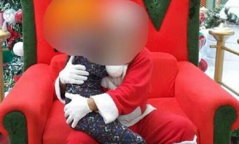 Mulher denuncia assédio sexual de Papai Noel contra a filha em shopping