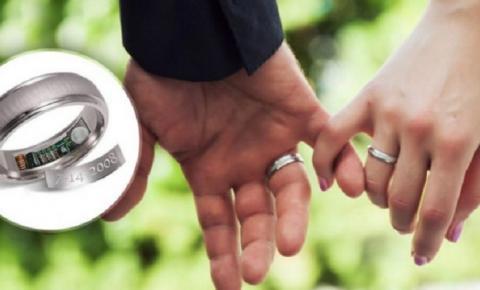 Empresa cria aliança de noivado com GPS para rastrear o parceiro