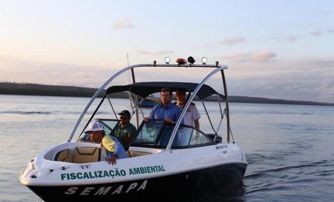Prefeitura entrega embarcação de fiscalização ambiental da costa de Cabedelo