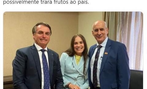 Regina Duarte aceita convite de Bolsonaro e inicia período de testes na secretaria da Cultura