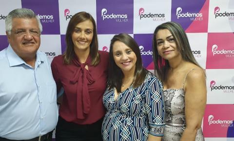 Ana Cláudia participa de Encontro Nacional das Presidentes Estaduais do Podemos, em SP