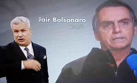 ASSISTA: RedeTV! bate recorde de audiência com entrevista de Bolsonaro a Sikêra Jr
