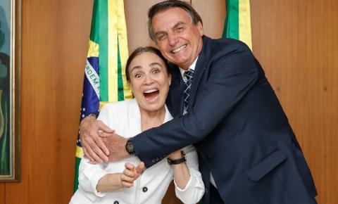 Regina Duarte nega saída do governo