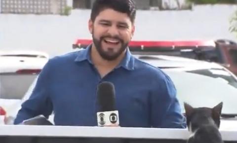 Repórter de afiliada da Globo passa mal ao vivo durante telejornal