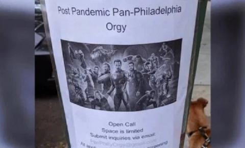 Casal organiza orgia pós-pandemia com o tema Vingadores