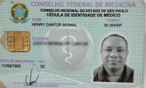 Falso médico é preso em hospital atendendo pacientes com coronavírus