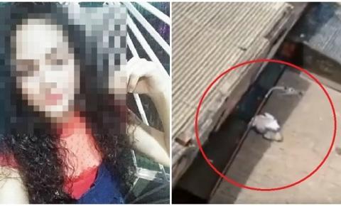 Bebê recém-nascido abandonado em telhado pela mãe morre