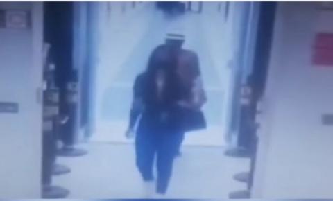Câmeras do Aeroporto registram últimos momentos de vida da modelo morta na PB; assistam