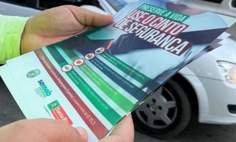 SEMOB lança campanha para estimular respeito às leis de trânsito em Santa Rita