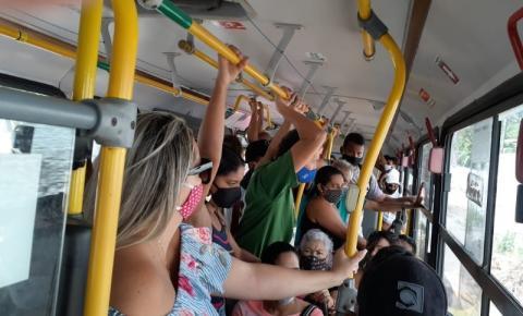 OPINIÃO: Transporte público ignora protocolo, põe usuário em risco e nada acontece