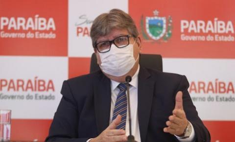 Governador João Azevêdo não descarta restrições mais duras em caso de aglomerações durante o carnaval