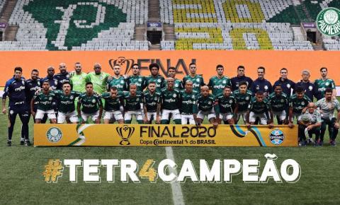 Palmeiras derrota o Grêmio e conquista o Tetra da Copa do Brasil
