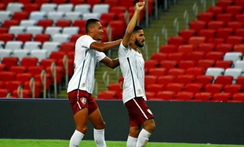 Fluminense vence clássico contra Flamengo pelo Carioca