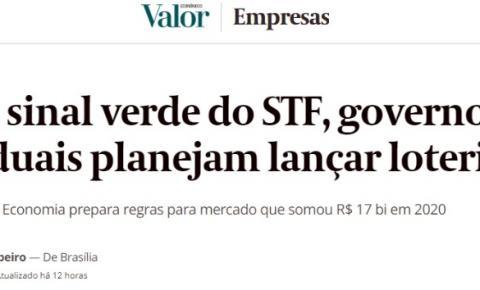 Paraíba é destaque em revista nacional de economia; estado tem loteria regulamentada e estuda ampliar ações
