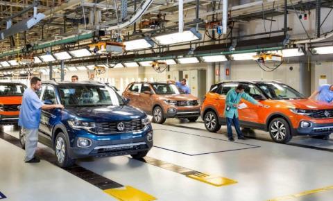 Volkswagen anuncia que vai parar produção de carros no Brasil por 12 dias