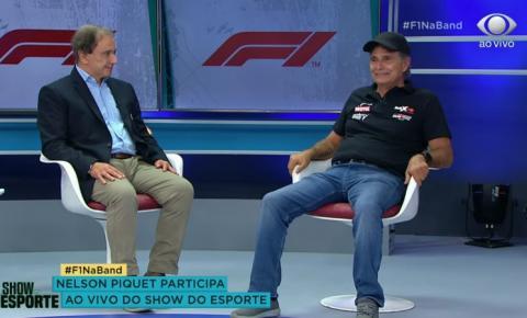 Nelson Piquet se exalta ao comentar chegada da F1 na Band: