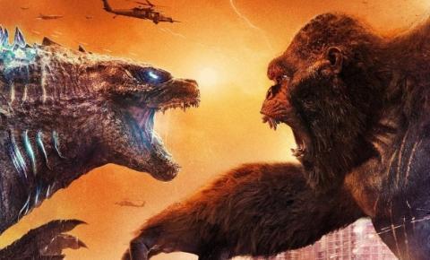 'Godzilla vs Kong' fatura US$ 121 milhões com maior estreia internacional da pandemia