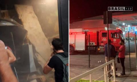 Editor do 'Jornal da Record' fica seriamente ferido em acidente: teto da emissora desabou