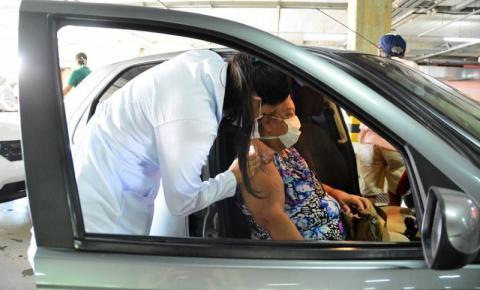 João Pessoa vacina grupo com 76 anos ou mais com 2ª dose contra a Covid-19; confira os locais
