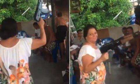 Mulher confundida com mãe de traficante diz que sofre ameaças