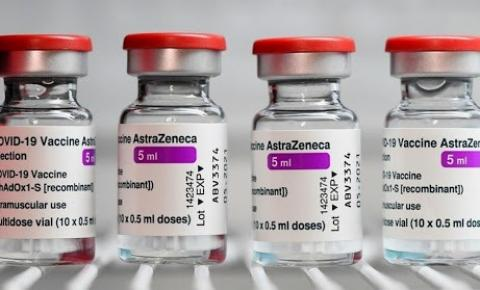 Ministério da saúde envia mais de 61 mil doses de vacinas Astrazeneca/Oxford para o Estado da Paraíba