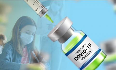 Chegou a hora dos trabalhadores da educação receberem a vacina contra covid-19 em JP