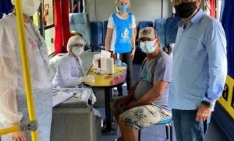 Prefeitura de João Pessoa mobiliza equipe da saúde para vacinar população em situação de rua contra Covid-19