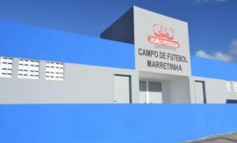 Prefeitura de João Pessoa faz últimos ajustes para entregar campo do Bairro Vieira Diniz