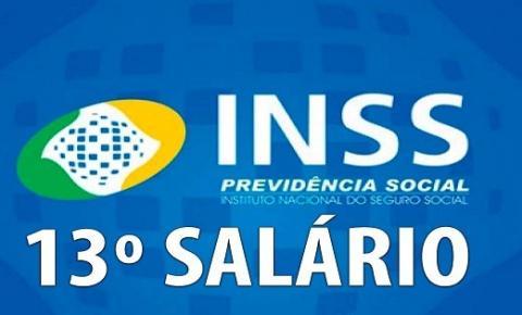Calendário: INSS começa a pagar a segunda parcela do 13º salário dos aposentados