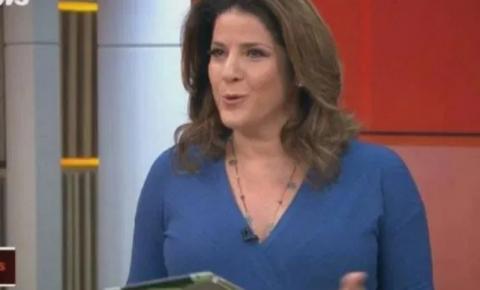 [VÍDEO] Apresentadora da Globo News se revolta com equipe e abandona programa