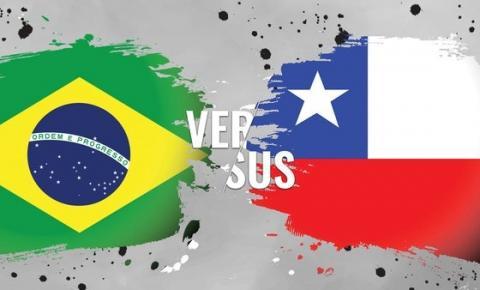 AO VIVO: Brasil x Chile pela Copa América