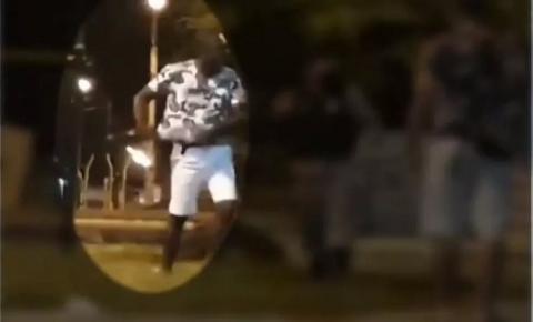 EM JP: Jovem baleado por PM de folga em praça perde o BAÇO; VÍDEO