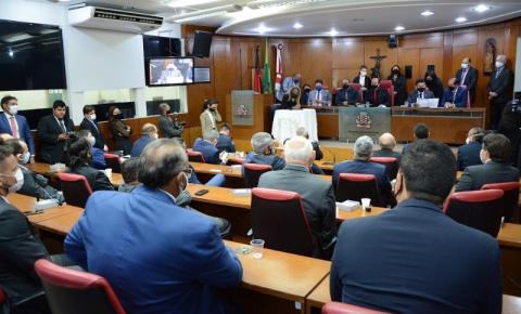 Presidente da Câmara de João Pessoa anuncia retorno das sessões presenciais após o recesso