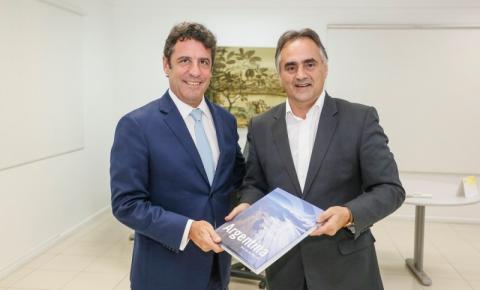 Cartaxo recebe visita do embaixador da Argentina e destaca fortalecimento do turismo
