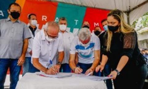 Prefeitura de João Pessoa inicia obras de calçamento e infraestrutura no Bairro das Indústrias