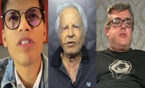 Filhos de Cid Moreira pedem bloqueio de bens, interdição do pai e prisão da madrasta