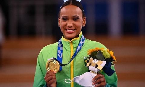 Brasil no topo! Rebeca Andrade brilha novamente e conquista a medalha de ouro no salto