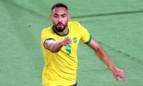 É ouro! Paraibano marca, Malcom decide na prorrogação e Brasil vence a Espanha na final do futebol