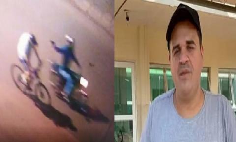 Vídeo forte: Câmeras de segurança flagram execução de vereador na fronteira Brasil-Paraguai