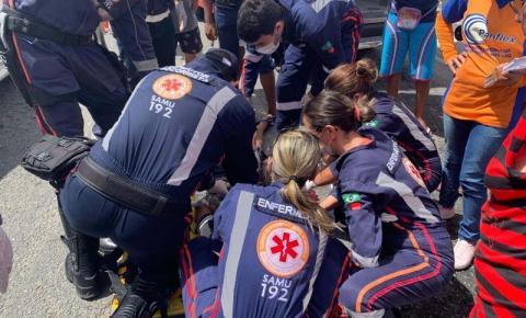 Mulher morre após pular de moto em Campina Grande