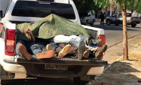 CONFRONTO SANGRENTO: Criminosos suspeitos de assalto a banco são mortos após trocar tiros com a polícia