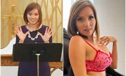 """Ex-pastora agradece igreja por sucesso no OnlyFans: """"Fé e fetiches"""""""