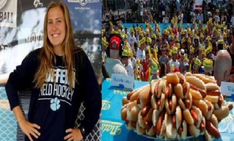 INUSITADO: Jovem morre após engasgar em competição de comer cachorro-quente