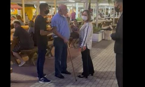 Empresário é acusado de xingar criança que vendia doces no Parque Cabo Branco e clientes se revoltam – VEJA VÍDEO