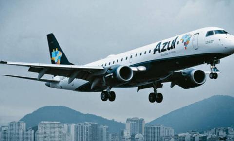 Azul anuncia voos entre Belo Horizonte e João Pessoa